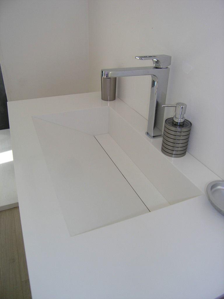 Plan Vasque Sur Mesure création et rénovation salle de bain en savoie, haute savoie